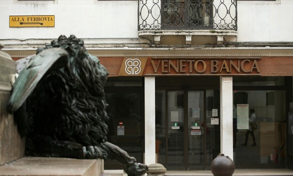 Italy to pay up to €17 billion to deal with two troubled banks