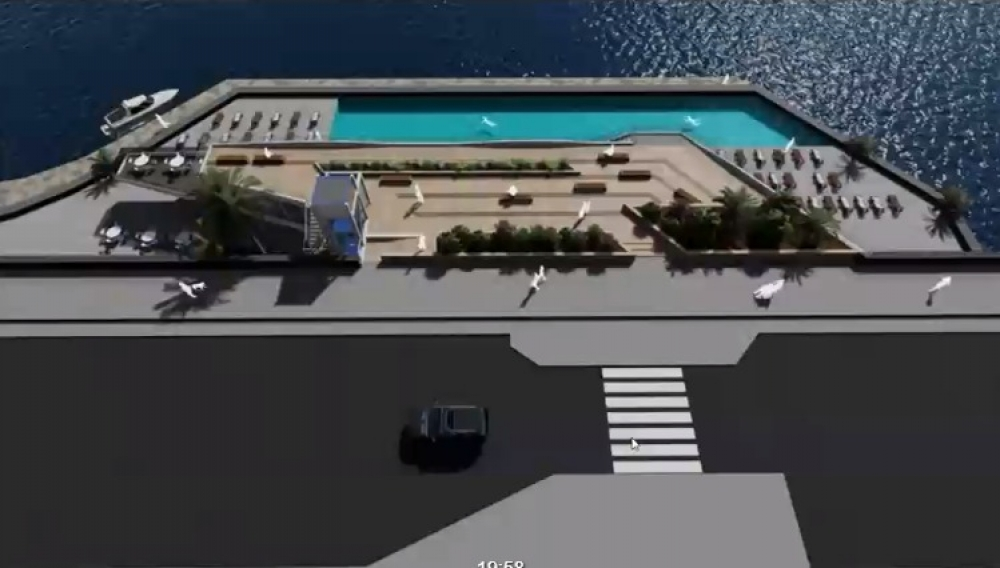 Fortina lido's land reclamation gets PA's green light