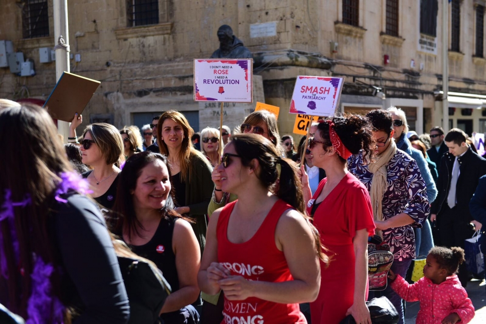 Women in Malta graduate more, earn less and live longer