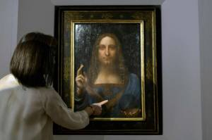 [WATCH] Lost Leonardo da Vinci painting sells for $450 million