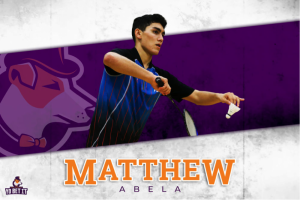 YoBetit signs Malta's number one badminton player Matthew Abela