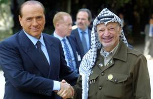 Secret diaries of former Palestinian leader Yasser Arafat reveal relationship with Silvio Berlusconi