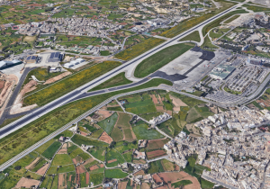 Malta airport grounds could see major transformation