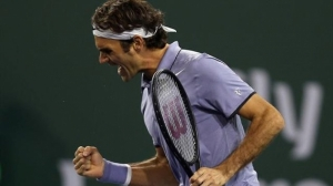 Federer continues to progress at the BNP Paribas Open