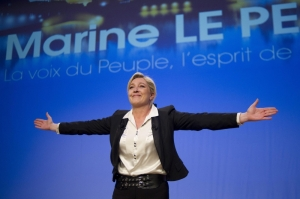 France's Marie Le Pen pledges to hold referendum on EU if elected