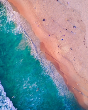 Drones: a game-changer in keeping beaches clean