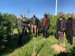 Jewish Foundation commemorates Holocaust with tree-planting ceremony