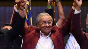Malaysia's Mahathir Mohamad set to be world's oldest leader