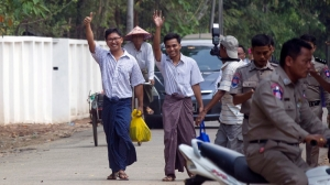 Reuters journalists jailed in Myanmar released after over 500 days