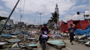 [WATCH] Earthquake-triggered Tsunami kills scores of people in Indonesia
