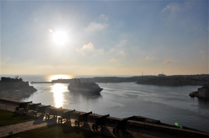Cruise ships visiting Valletta port with worst emissions almost double