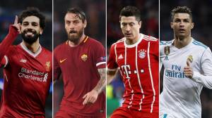 Champions League semi-final draw: Bayern Munich v Real Madrid, Liverpool v Roma
