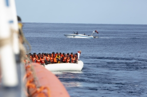 Rescue boat targeted by Libyan militias outside Lampedusa, claims Malta ignored evacuation request