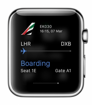 Emirates ready for timely launch of its app for Apple Watch