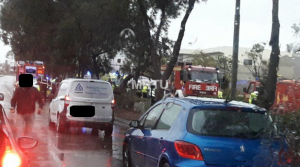 Updated | Motorist killed, passenger injured after tree collapses on car in Mriehel