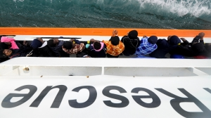 Set up disembarkation locations outside the EU