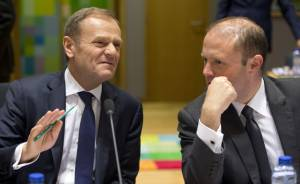 Muscat and Tusk discuss migration ahead of EU summit