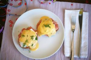 Three indulgent breakfast recipes for New Year's Day