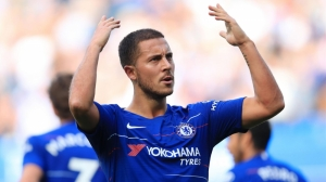 Eden Hazard scores a hat-trick as Chelsea cruise past Cardiff City