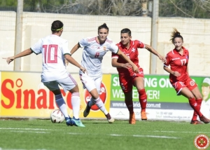 Malta women's team lose narrowly to Hungary