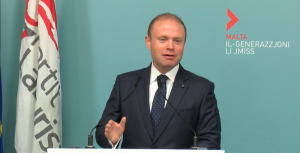 [WATCH] We won't be held back from enacting reforms for a modern Malta – Muscat