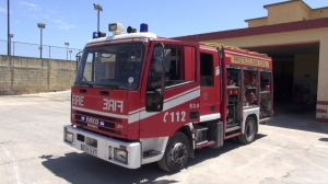 Lightning strike causes fire in Zurrieq