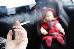 Law banning smoking in cars with minors enters into force