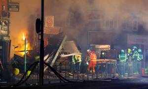 Four dead in Leicester shop explosion