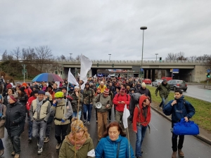 Activists start long march from Berlin to Aleppo
