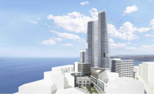 Sliema tower: 'Unreasonable' to expect residents to keep windows closed during construction