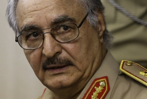 Libya's Haftar in coma after stroke
