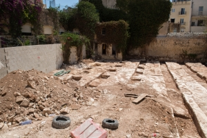 St Julian's palazzo rock cuts find under examination