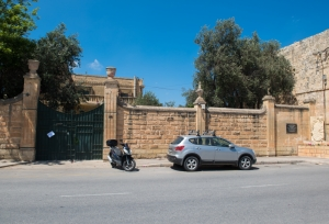 Mintoff's Tarxien villa spared encroachment by block of flats for now