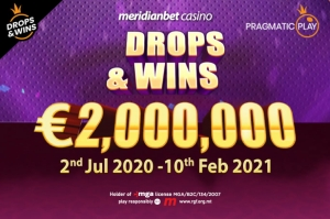 Meridianbet casino offers a €2,000,000 share