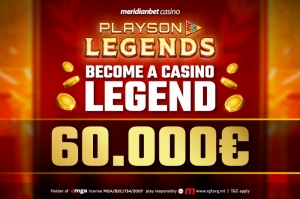 Become a legend in an online casino tournament