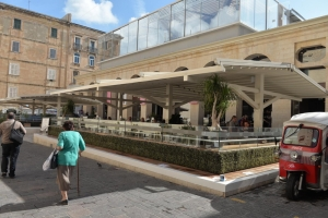 Arkadia delays enforcement against Suq tal-Belt canopy with appeal