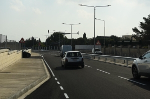 [WATCH] Bike lane accompanies completion of Luqa Road in Santa Lucija