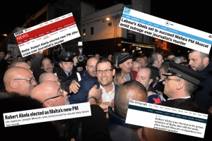 Robert Abela's election through the eyes of the international media