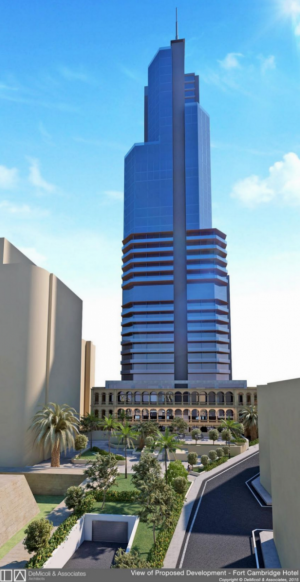40-storey Tigné tower hotel: no objection from environment authority