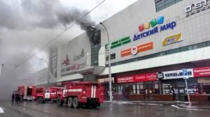Putin says Russian shopping complex fire was caused by 'criminal negligence'