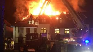 Woman dies in care home fire in northeast London