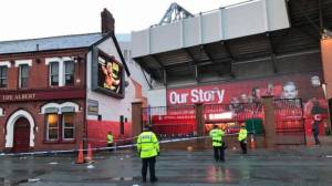 Liverpool fan in critical condition in pre-game assault
