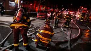 12 dead in apartment fire in New York