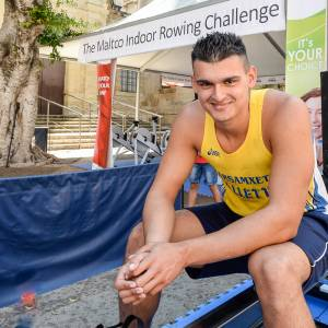 [WATCH] Maltese rower breaks world record in indoor rowing