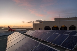 Malta airport reduces greenhouse gas emissions by 700 tonnes in 2015