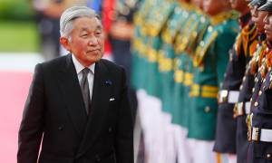 Japanese emperor Akihito first to resign in 200 years