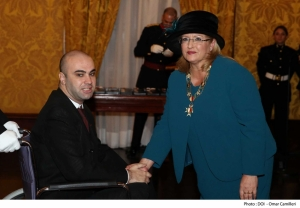 ALS sufferer Bjorn Formosa is Malta's European Citizen of the year