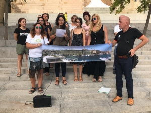 [WATCH] Residents in Bormla and Isla object to loss of public spaces with proposed AUM extension