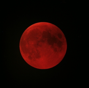 Moon will turn blood red on Friday in longest lunar eclipse of the century