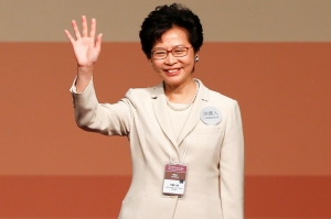 Hong Kong leader Carrie Lam defiant after massive protest